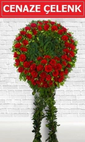 Kırmızı Çelenk Cenaze çiçeği  Şanlıurfa anneler günü çiçek yolla
