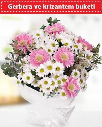 Papatya ve Gerbera Buketi  Şanlıurfa güvenli kaliteli hızlı çiçek