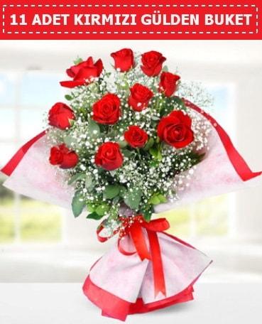 11 Adet Kırmızı Gül Buketi  Şanlıurfa çiçek gönderme