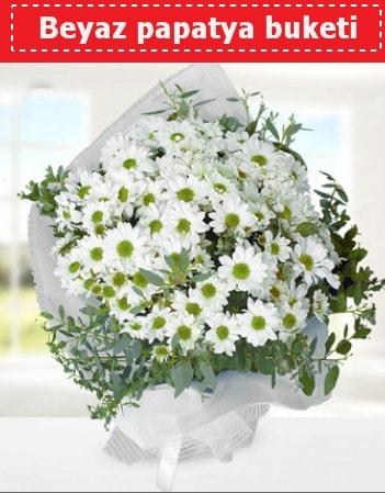 Beyaz Papatya Buketi  Şanlıurfa çiçekçi mağazası