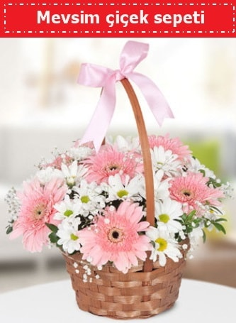 Mevsim kır çiçek sepeti  Şanlıurfa güvenli kaliteli hızlı çiçek